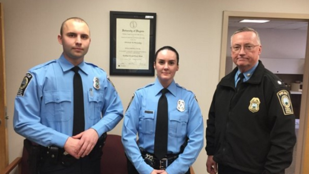 Her first day on the job Prince William Police Officer Ashley Guindon, center, murdered at scene of a domestic dispute in Woodbridge Va.