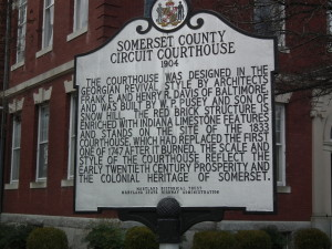 The Somerset County Circuit Courthouse will soon be the scene of the next lesson for UMES students who can't shoot straight.