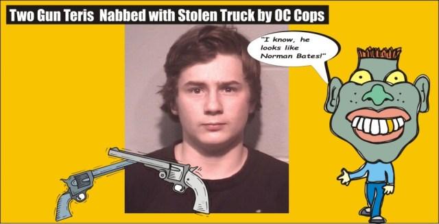 Two Gun Teris stolen truck Ocean City Police 032516