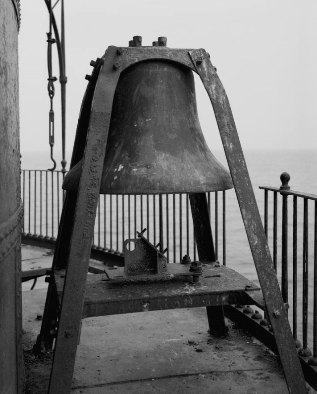 Seven Foot Knoll Lighthouse bell Patapsco River at Chesapeake Bay