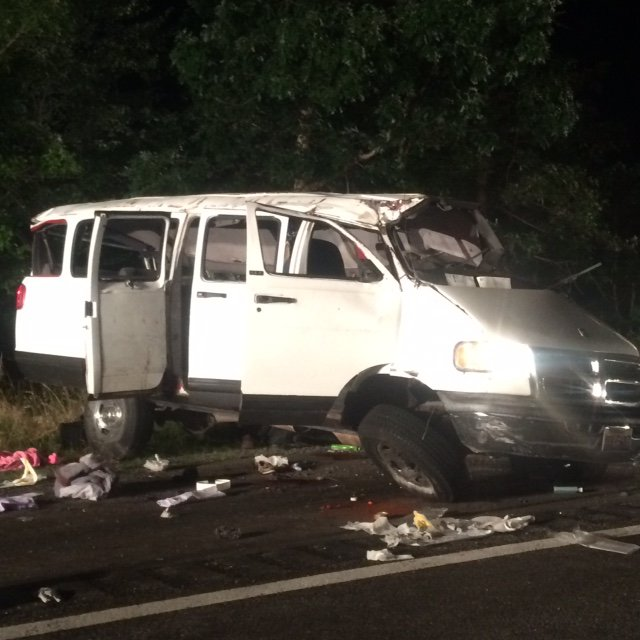 Six killed in Caroline County crash on I-95 Photo courtesy of WTVR