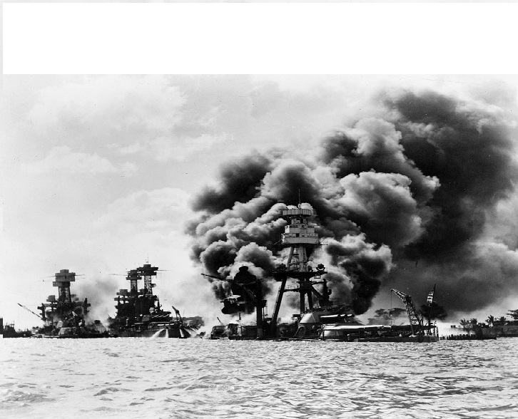 Pearl Harbor raid by Japanese on Dec. 7 1941