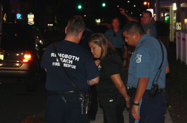 Michelle Small charged with DUI by Dewey Beach Police after destroying Ed's Chicken & Crabs