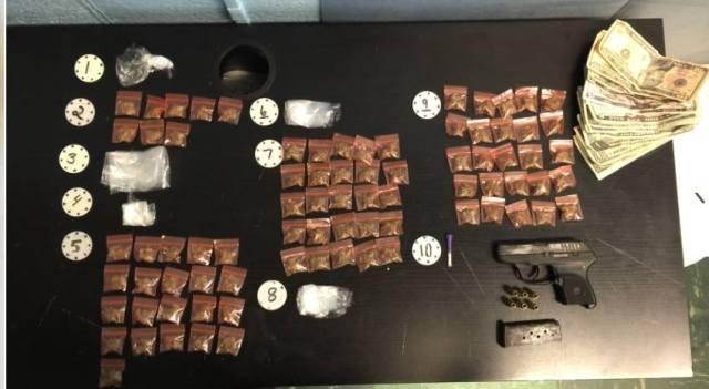 Anthony Harrington drug arrest 090516 Balt City Police