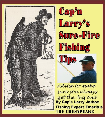 Cap'n Larry's Sure-Fire Fishing Tips