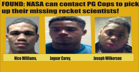 Missing rocket scientists found by PG Cops