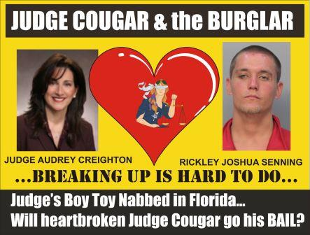 Judge Cougar and the Burglar