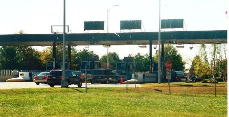 The Maryland Transportation Authority operates Maryland's bridges and tunnels. This is toll booth complex for the Gov. Harry W. Nice Bridge to Virginia.  THE CHESAPEAKE TODAY photo