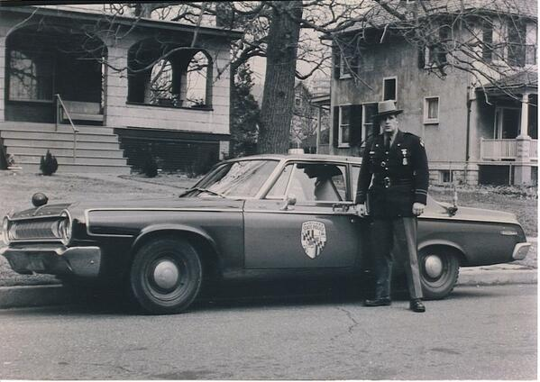 Maryland State Police in history-- a 1964 Dodge.