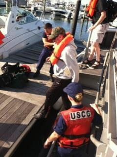 Coast Guard rescues 5 after boat fire at Indian River Inlet Del.