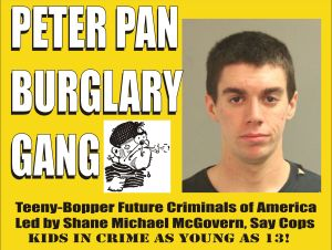 Peter Pan Burglary Gang