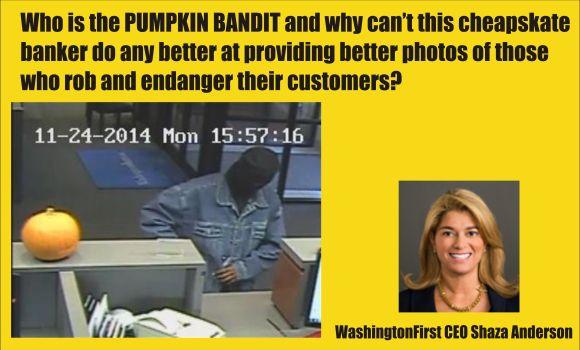 the Pumpkin Bandit