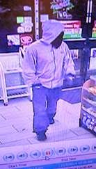 Wanted for robbing 7500 block of Old Branch Avenue shortly after midnight on December 9, 2014.