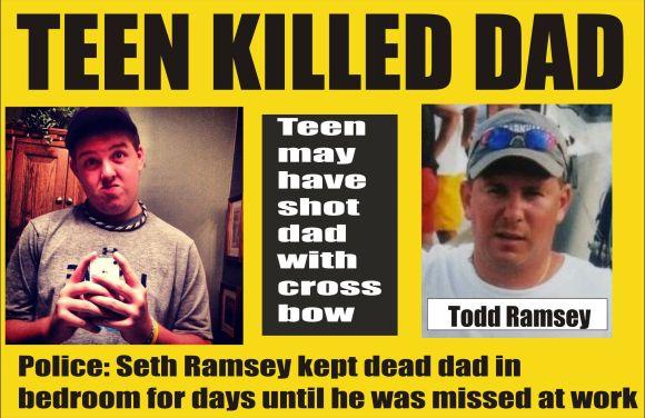 Teen killed dad in Delaware