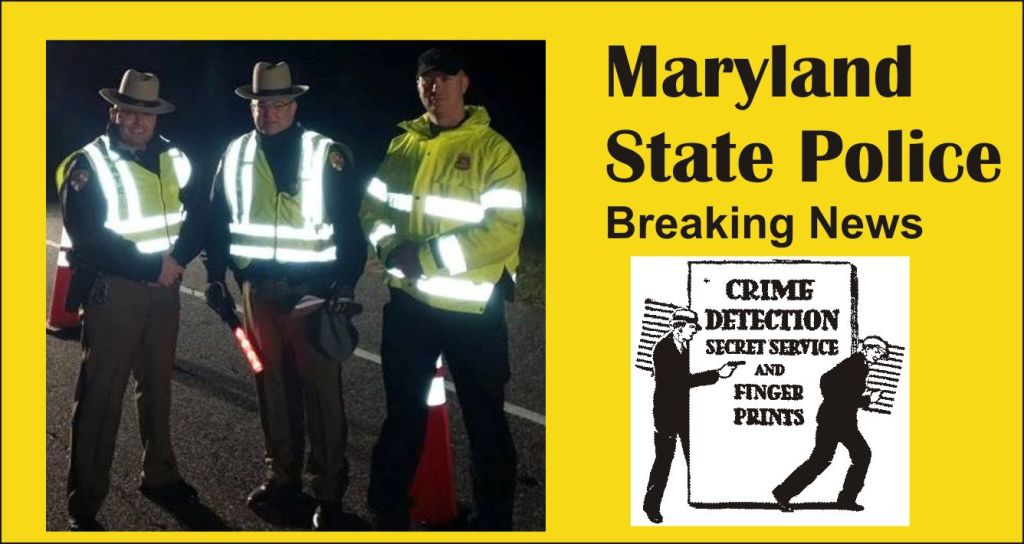 Maryland State Police report DUI arrests for May 2015