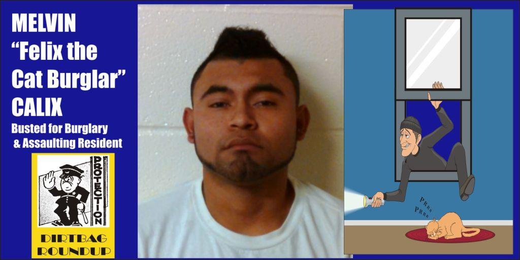 Melvin the cat burglar Calix arrested in four Wheaton burglaries Md
