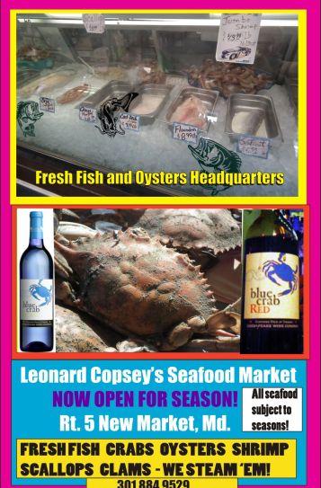 Leonard Copsey's Seafood Market 2015