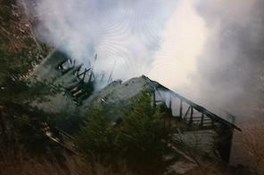 Owings house fire demolishes home WJLA newschopper 7