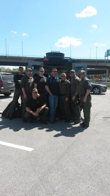 Carroll County Sheriff's Deputies keeping thugs under control in Baltimore City