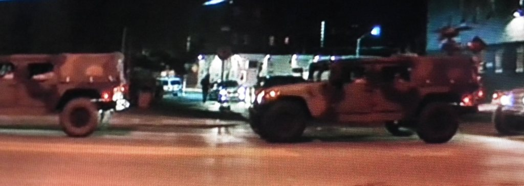 National Guard troops roll into Baltimore City Md.