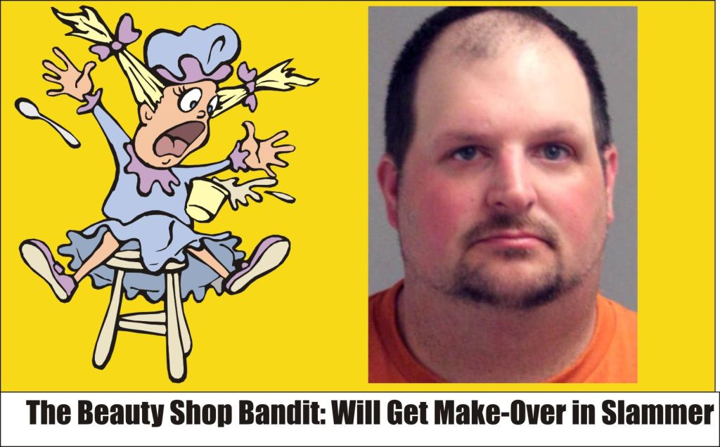 Beauty Shop Bandit Michael Crandell