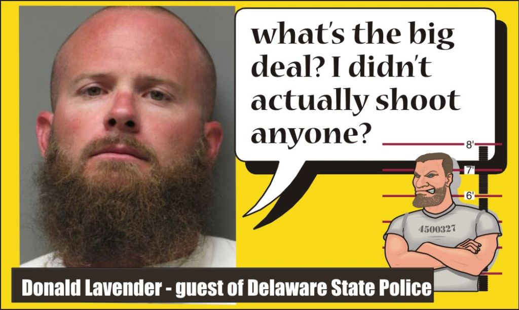 Donald J Lavender Road Rage Warrior