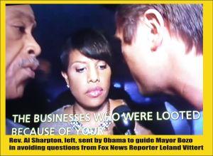 Mayor Bozo and Al Sharpton