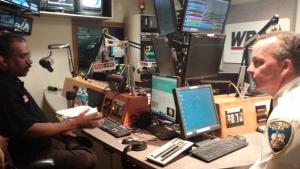 Commissioner Davis on WBAL radio show