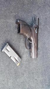 Gun snatched from thug on Baltimore streets