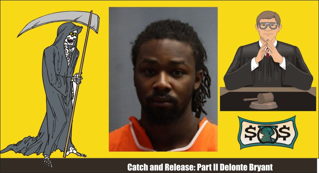 Delonte Bryant catch and release photo wanted in shootings