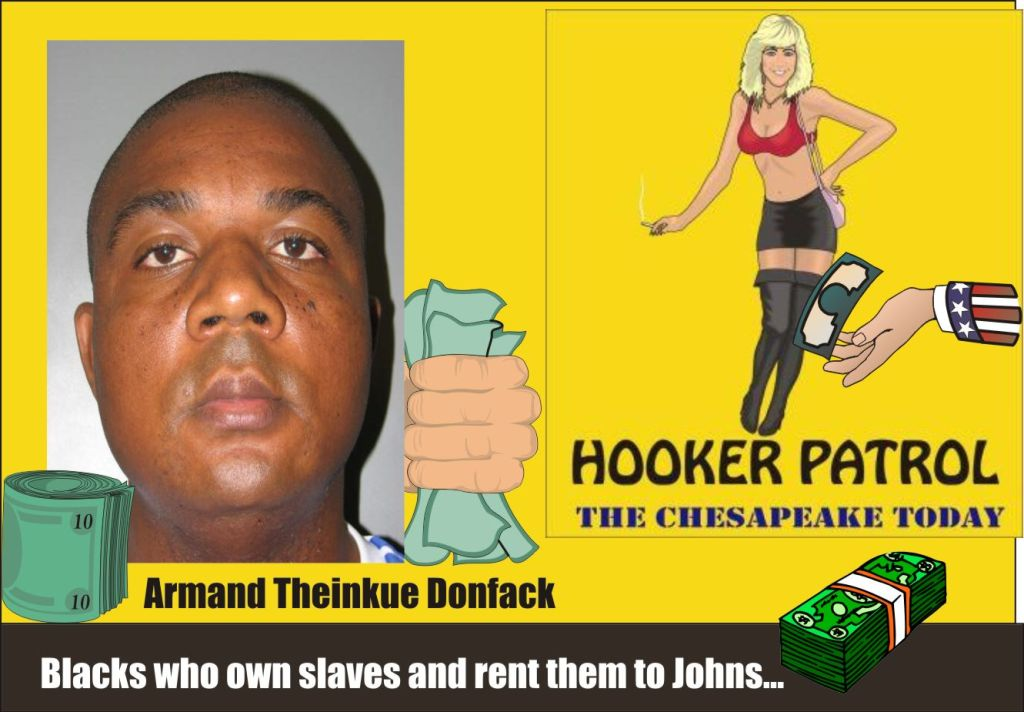 Donfack charged with slavery and prostitution Mont Co Poliice