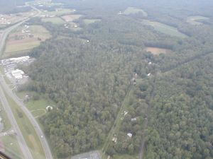 Aerial views of the day after Hurricane Isabel hit the Chesapeake region in 2003.
