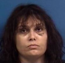 VALERIE MILLER 36 of Lothian Md. charged with huffing in a parking lot 120615 Calvert Sheriff