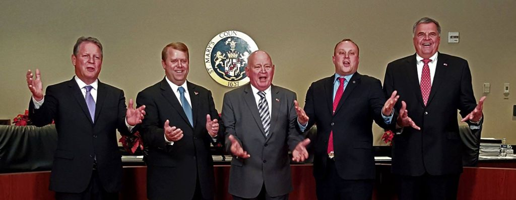 We don't know nothin' - St. Mary's Board of Commissioners