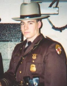 Maryland State Police Senior Trooper Eric Evans