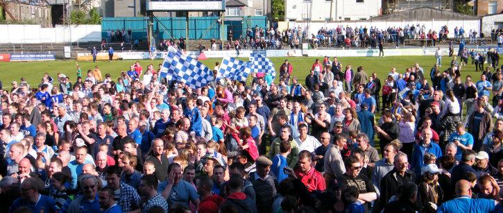 Image result for bangor city fc fans