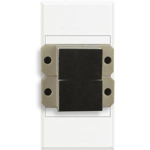 Axolute bussole di accoppiamento duplex bianca HD4268SC BTICINO