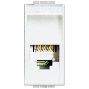 Bticino Living Light Presa Telefonica Rj12 (4/6) Tipo K10 N4258/11N