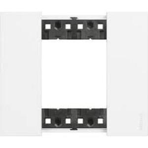 Bticino Living Now Placca due moduli bianco KA4802KW