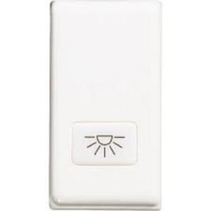 Bticino Matix Copritasto Illuminabile Antibatterico Bianco Am5921Aab