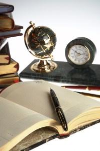 bigstockphoto_Organizer_Pen_Books_2328499