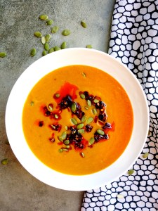 Curry Spiced Pumpkin Anti-Inflammatory Pressure Cooker Soup