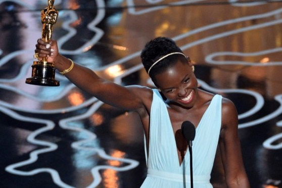 Lupita Nyong'o, Lupita Nyong'o Oscar Speech, Lupita Nyong'o Oscar, Lupita Nyong'o Twitter, Lupita Nyong'o Dress, Dark Skinned Women, Colorism, Relaxed Hair, Natural Hair, Self Love, Lupita Nyong'o Best Supporting Actress, Lupita Nyong't Speech, Lupita Nyong'o Blue Dress