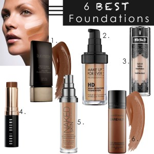 6 best foundations