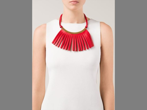 Marni, Marni Fringed Necklace, shop Marni, spring accessories, trends for spring 2015, spring footwear, spring trends, 2015 spring fashion trends, spring jewelry trends, designer jewelry, designer jewelry brands, handmade designer jewelry, handcrafted designer jewelry, designer shoes, designer shoes for women, womens designer shoes, top designer shoes, designer shoes online, designer bags, best designer bags,  top designer bags,  the latest fashion trends, the latest urban fashion trends, latest in fashion trends, latest lady fashion trends, luxury fashion designers, womens clothes online, trendy clothes, clothing websites, fashion websites, trendy clothing, best fashion blog, top fashion blog, top fashion blogger, houston fashion blogger, Southern fashion blogger, Black fashion blogger, fashion, bloggers, african american fashion blogger, luxury fashion websites, fashion designer websites, designer clothing, fashion websites,  Houston fashion stylist,  Houston image consultant,  personal stylist in Houston,  fashion bloggers in Houston, online fashion shopping