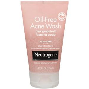 Oily skin face scrub
