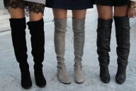 over the knee boots, winter boots