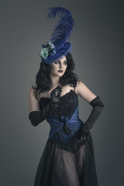 Gothic Gorgeousness and Alternative wedding dresses  The