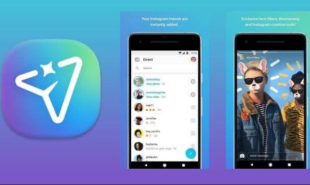 Instagram's own messaging app