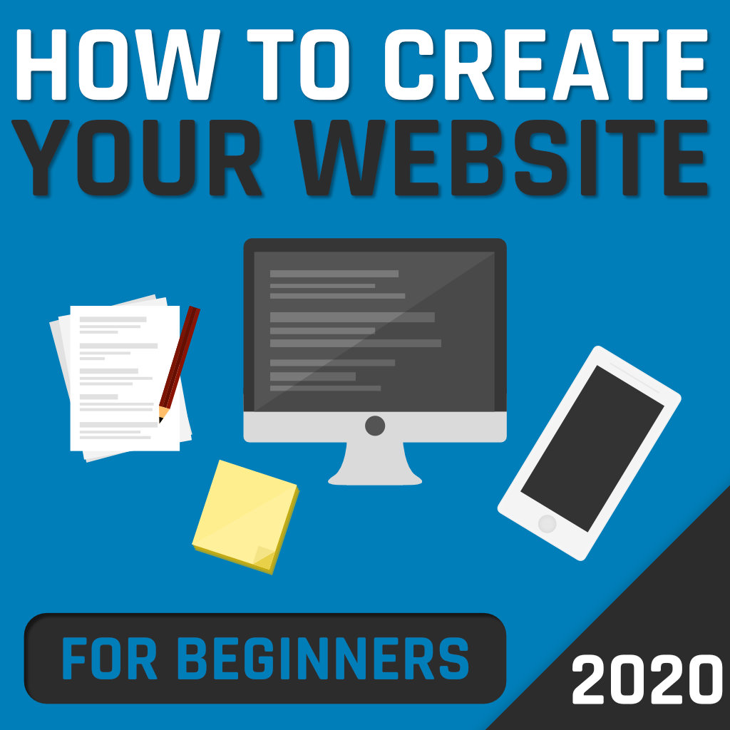 How to create your Website – for beginners (2020)